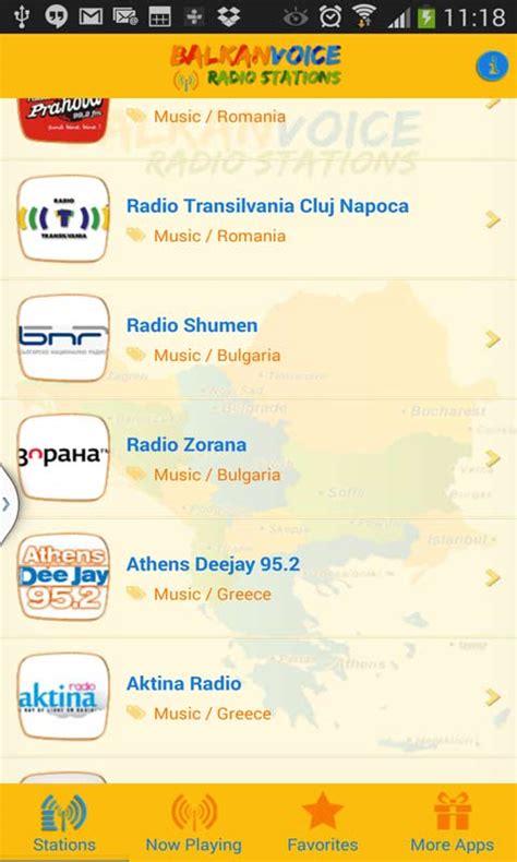balkan web mobile balkan radio stations free android app android freeware