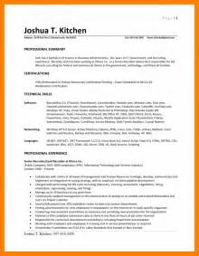 3 Page Resume Format by 2 Page Resume Format Exles Jianbochen