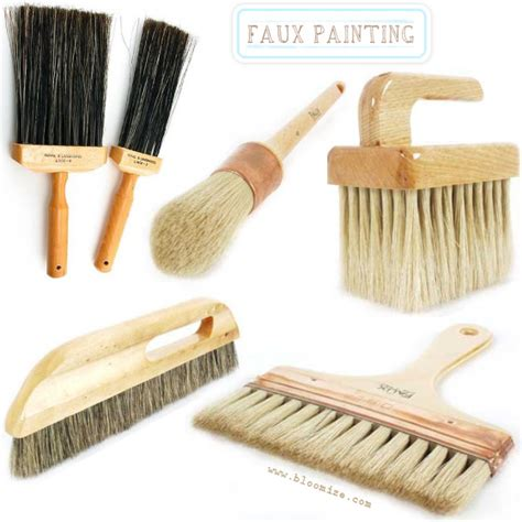 faux painting brush etc bloomize - Faux Painting Brushes