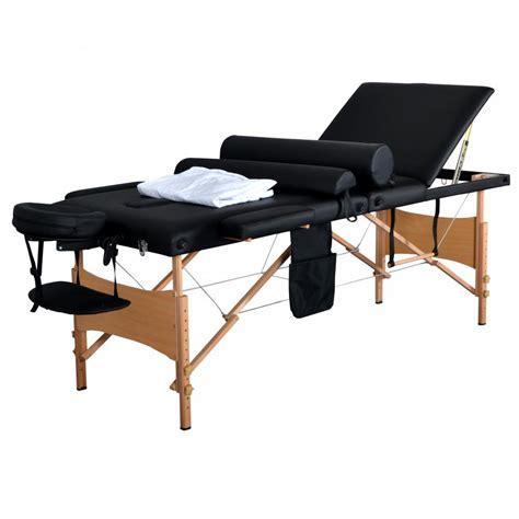 portable facial bed new 84 quot l 3 fold massage table portable facial bed w sheet bolsters carry case 3 ebay