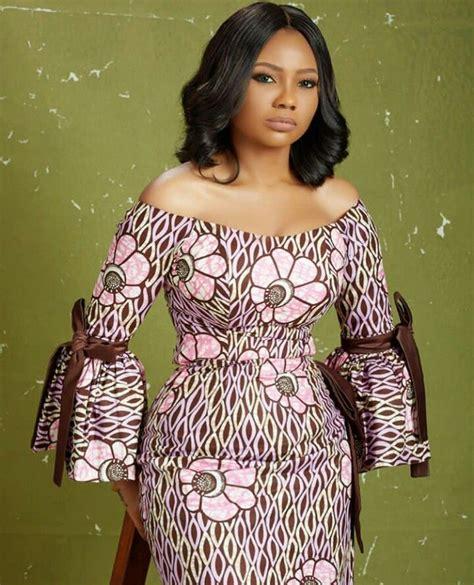 Beautiful Chitenge Dresses | beautiful off shoulders chitenge dress kanyget fashions