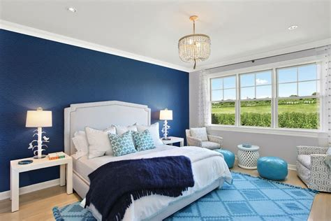 blue bedroom decor dark blue master bedroom