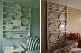 Wall Plate Display Rack by 25 Bright Ideas For Incorporating Open Shelves Into Your