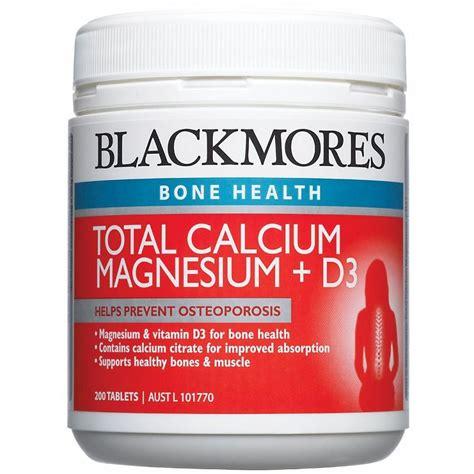 Promo Blackmores Total Calcium Magnesium D3 200 Tablet Glucosamine blackmores total calcium magnesium d3 prevent osteoporosis