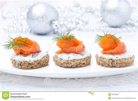rye bread canapes canape with rye bread cheese salmon for