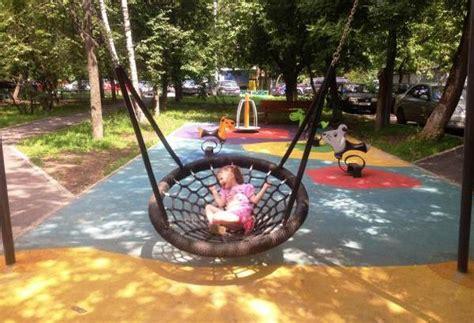 fun backyard playful garden furniture swings adding fun to backyard