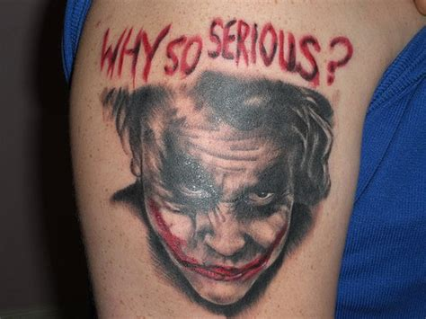 why so serious joker heath ledger done by chance webb c