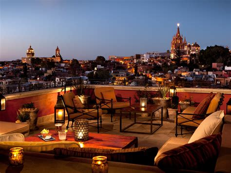 Modern Home Design Charlotte Nc by The Best Rooftop Restaurants In San Miguel De Allende