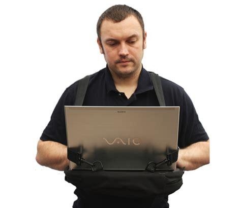 Walking Laptop Desk Walking Laptop Desk Bag Trabasack Desk And Bag In One