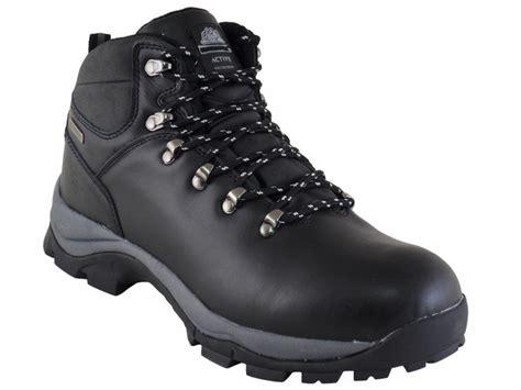 mens black leather hiking boot bundle black leather
