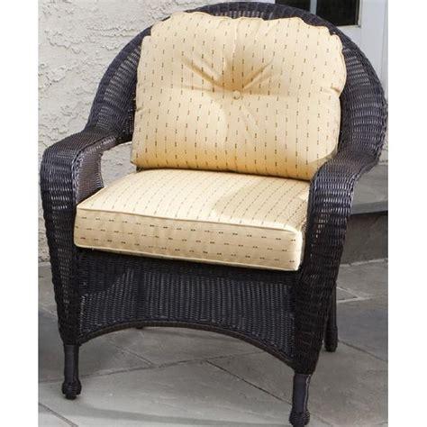 Ballard Designs Ottoman w wicker chair cushion direct 2 txt 2 chair pads amp cushions
