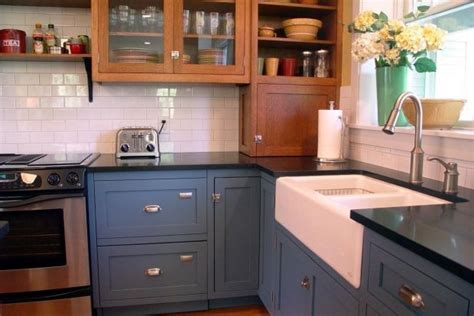 antique blue kitchen cabinets quicua