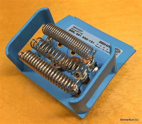 z3 fan resistor bmw behr replacement blower motor resistor z3 64 11 6 912 633 bimmerbum co bmw parts