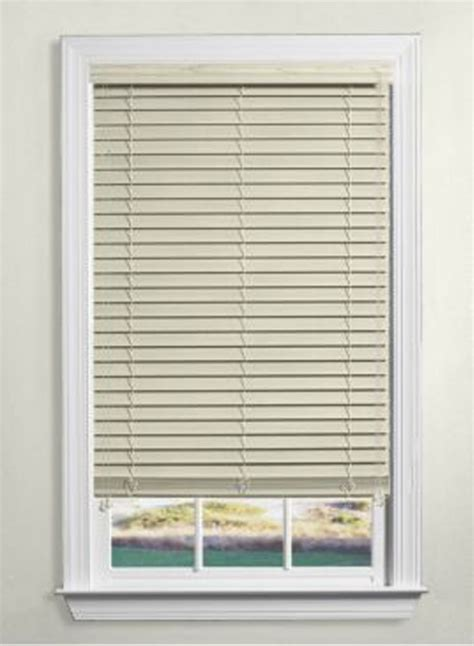 levolor window coverings levolor nu wood blinds 2 inch the home depot canada