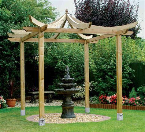 plans for wooden gazebo pergola design ideas