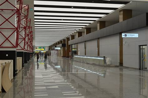 architect and building news report on airport building sheremetyevo airport terminal building 3 e architect