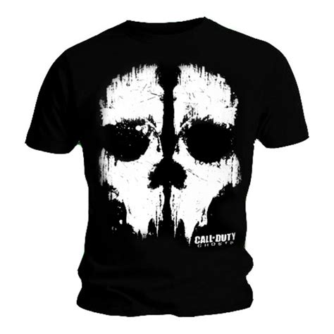 Hoodie Call Duty Logo Skull official t shirt call of duty xbox skull ghosts all sizes