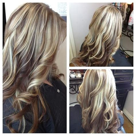 Gorgeous Tricolor Highlight Lowlight Pieced Haircolor It S All About The Hair Highlights And Lowlights Color Layers Hairstyles For Hair