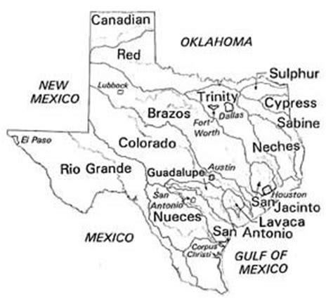 major rivers of texas map features vol 43 no 2 water computer model