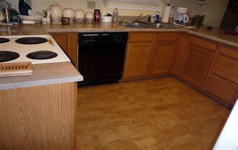 cork flooring kitchen pros and cons wood floors