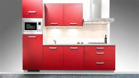 keuken 270 cm showroomuitverkoop nl rechte rode keuken 270 cm 54719