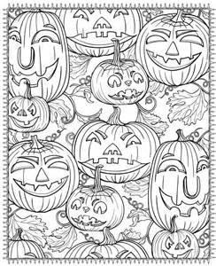 Free Printable Halloween Coloring Pages For Adults Best Printable Coloring Pages Adults