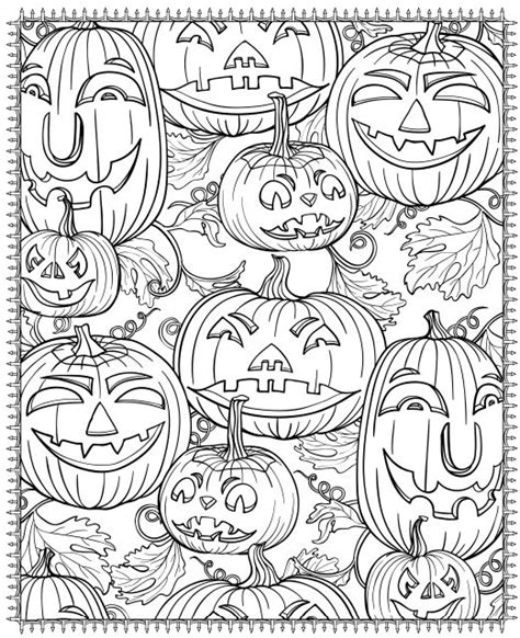 Halloween Coloring Pages Printable For Adults | free printable halloween coloring pages for adults best