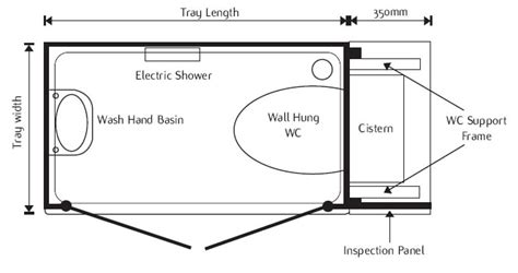Basic Floor Plan With Dimensions shower toilet cubicle