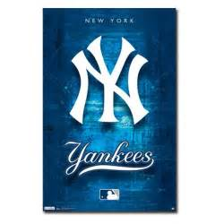 Wall Stickers Music new york yankees logo 11 wall poster