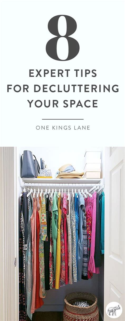 Tips For Decluttering Your Closet by 8 Lessons Our Editor Learned From The Decluttering Bible