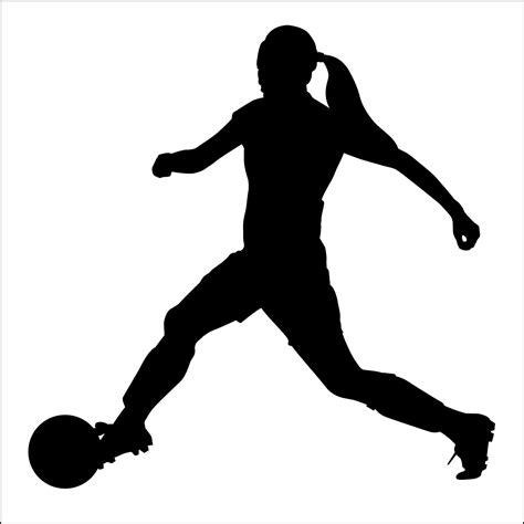 Girl Soccer Player Clipart – 101 Clip Art Girl Soccer Silhouette Clip Art