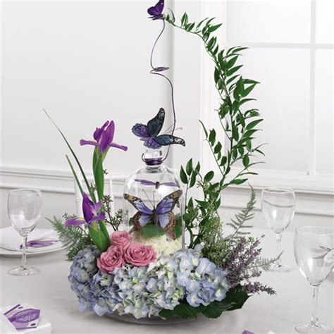 centerpieces with butterflies butterfly wedding ideas and theme sang maestro
