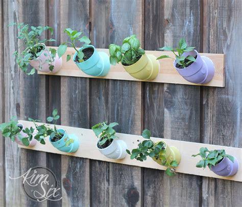 vertical garden from pvc pipe joints jpg