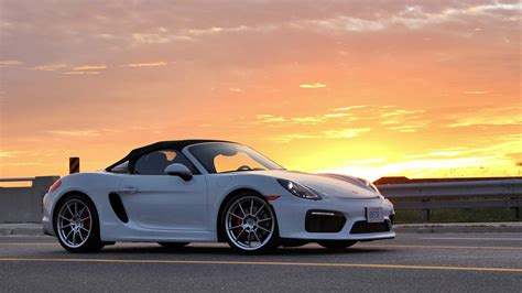 porsche boxster spyder 2016 2016 porsche boxster spyder test drive review