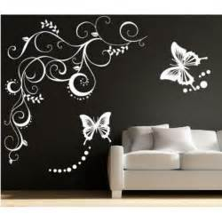 large butterfly wall art stickers butterflies wall art wallstickers folies butterfly flowers tiles wall stickers
