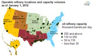 refineries map us refinery locations map us free engine image for