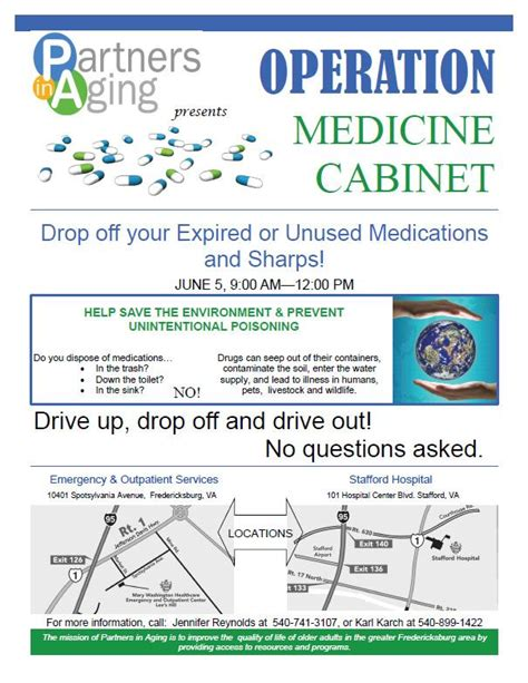 Operation Medicine Cabinet by Stafford County Sheriffs Office