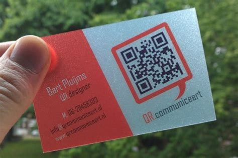 how to make qr code for business card 10 creative ways to use qr code in business card