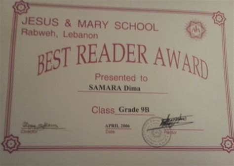 best reader best reader award edu805 dima samara