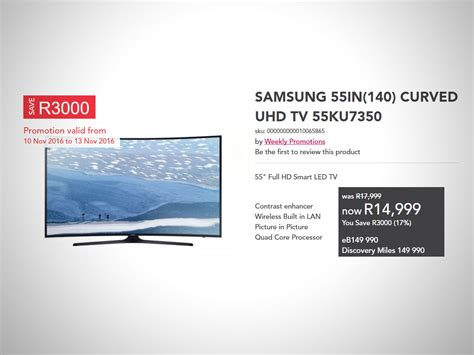 Samsung Uhd Tv 55 Inch Amazing Tech And Gaming Deals