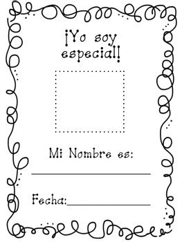 All about me spanish book - Yo soy especial by First Grade