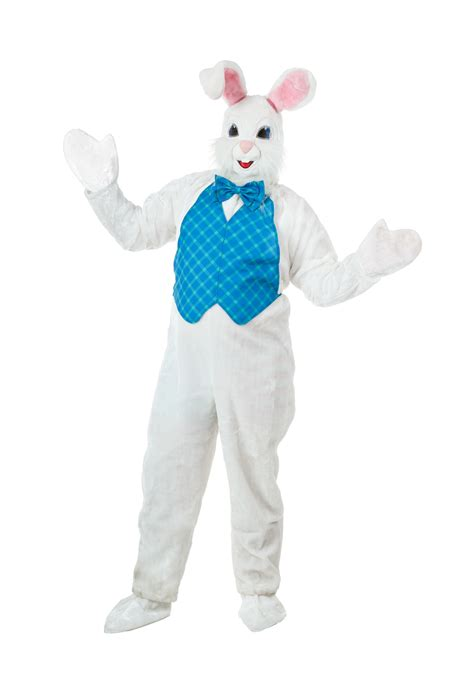easter suit mascot happy easter bunny costume