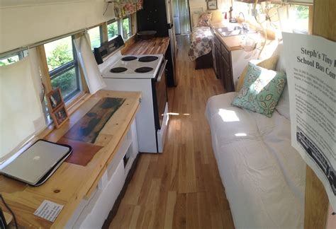old school bus conversions interior bus conversions how one woman turned an old school bus into the coziest