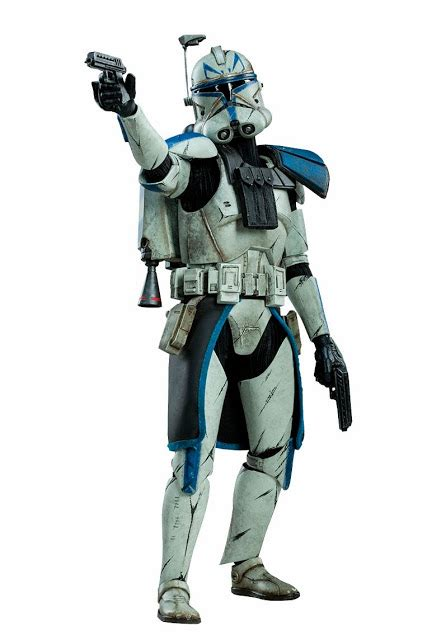 clone trooper wall display armor preview sideshow collectibles star wars clone wars captain rex phase ii armor 1 6 figure