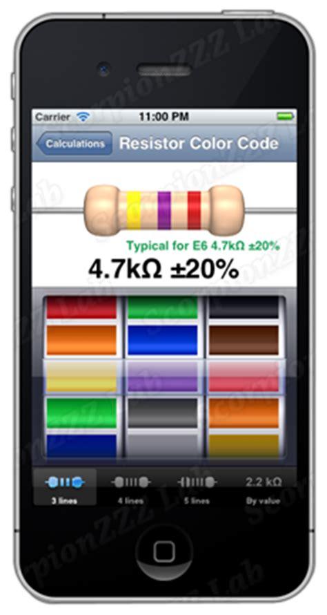 resistor color picker resistor color codes etools electronic tools