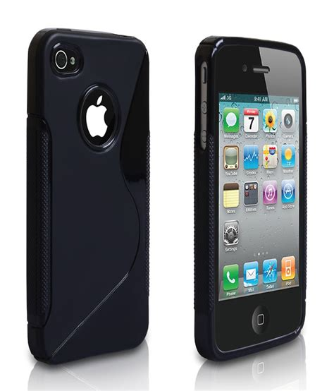 Softcase Black Matte Iphone 4 4g 4s Soft Black rka s line tpu gel silicone rubber soft back cover for apple iphone 4 4s 4g black buy rka