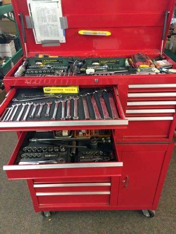 lot  mechanics dream tool box full  quality
