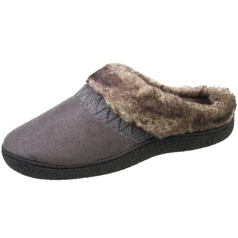 isotoner woodlands slippers isotoner s woodlands hoodback slippers