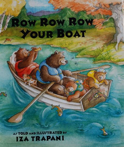 row boat verses row row row your boat bookworm bear