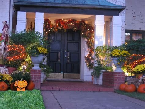 Outdoor halloween decorations and lawn care marketing idea lawn